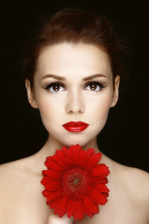 Šminka, crveni karmin