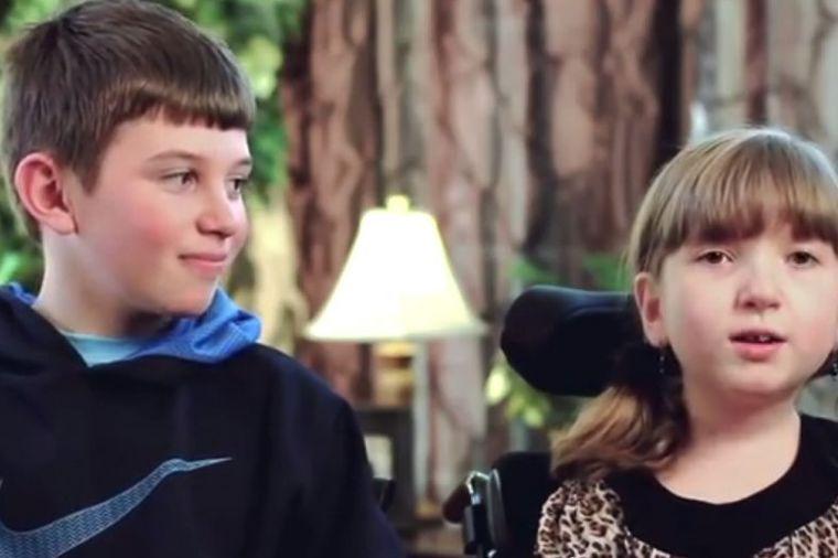 Mali heroj: Ljubav brata prema bolesnoj sestri (VIDEO