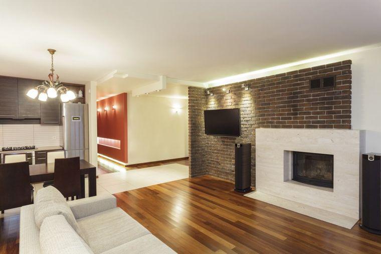 Unesite rustiku u svoj ivotni prostor zid od cigle za for Wohnung inneneinrichtung design