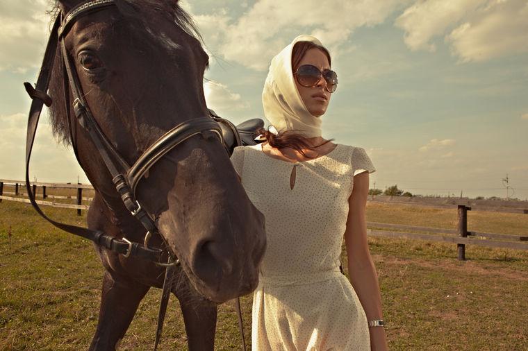Žena sa konjem