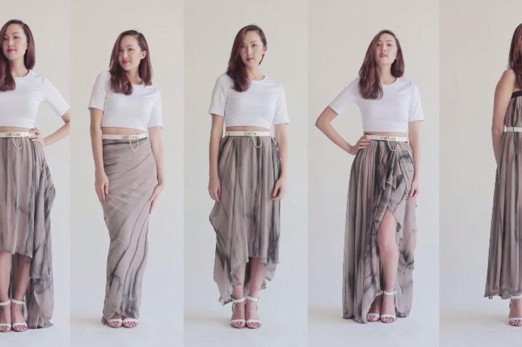 Svaki dan drugačije: Kako da nosite dugačku suknju na 5 načina! (VIDEO)