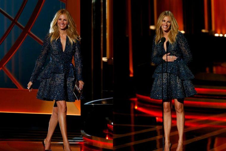 Noge za kojima su se svi okretali: Sa 46 godina Džulija Roberts ponosno šeta u mini haljini! (FOTO)