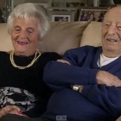 Moris (102) i Helen (101) proslavii 80 godina braka: Uvek se složite s onim što žena kaže! (VIDEO)