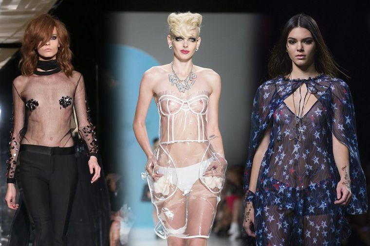 Moda koja ništa ne skriva: Providno na sve strane