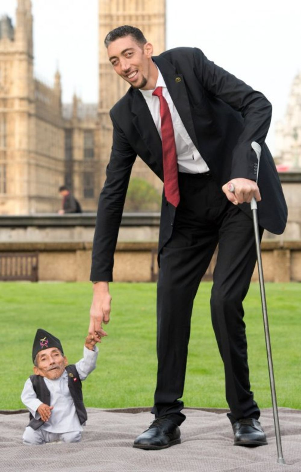 FOTO: Kada najviši na svijetu sretne najnižeg na svijetu
