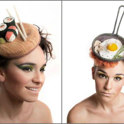 Poželećete da ih pojedete: Jedinstveni šeširi sa hranom (FOTO)