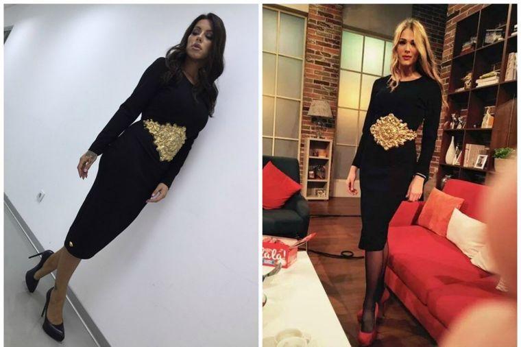 Seka Aleksić i Marija Ćetković u istim haljinama: Kojoj bolje stoji? (FOTO)