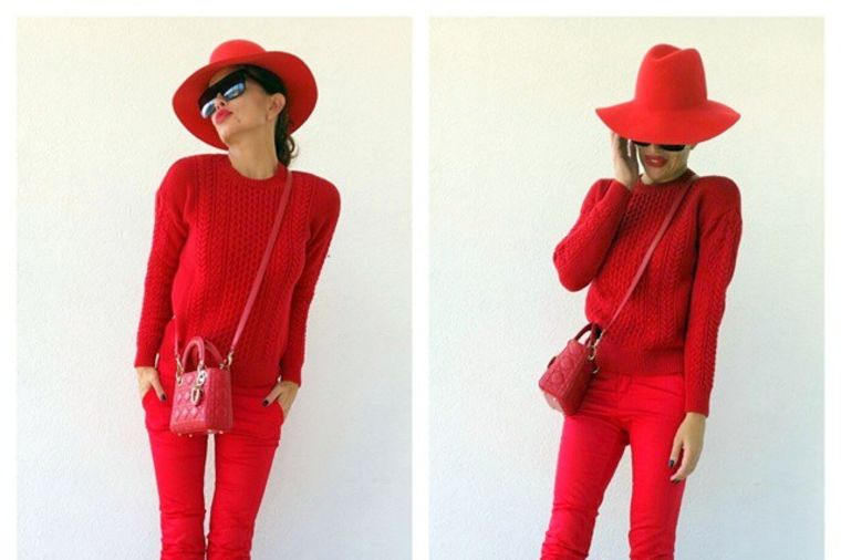 Severina deli modne savete: Kada se dvoumite, birajte crveno! (FOTO)