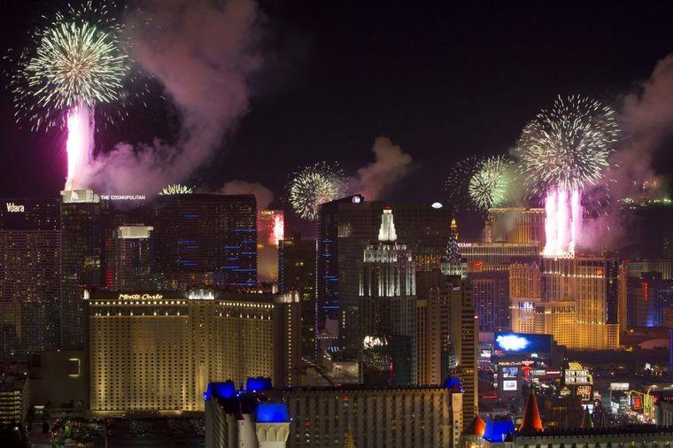 Sneg u pustinji: Las Vegas očekuje bele pahulje za Novu godinu