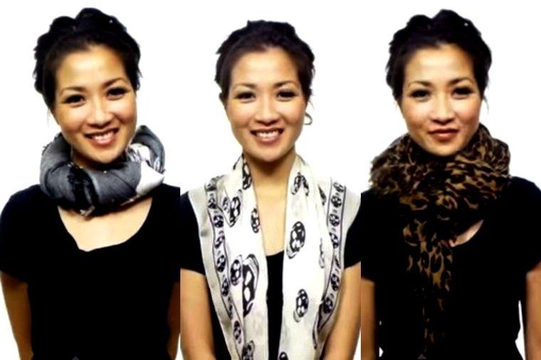 25 načina da nosite maramu: Za manje od pet minuta naučite kako da je vežete! (VIDEO)