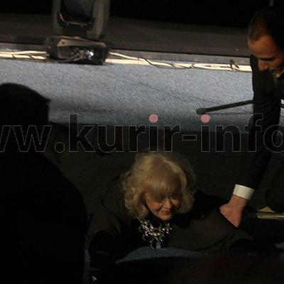 Milena Dravić pala sa pozornice: Dočekala sam se kao Madona! (FOTO)