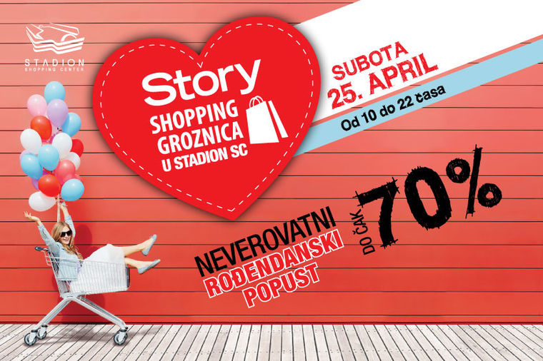 Satnica Story shopping groznice