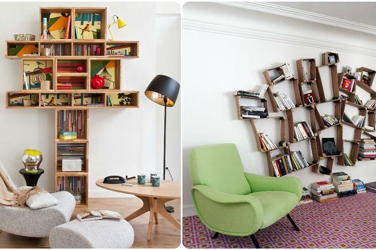 Kako do moderne dnevne sobe: Knjige kao savršen detalj u svakom domu! (FOTO)