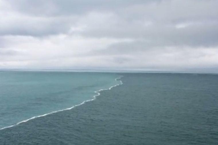 Fascinantno: Ovako izgleda susret dva okeana! (VIDEO)