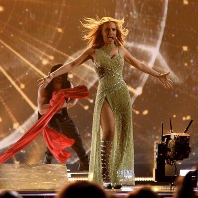 I stas i glas: Najseksepilnija dama Evrovizije zavela svet! (FOTO)