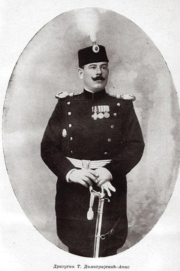 Dragutin Dimitrijević Apis, foto: Wikipedia