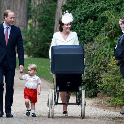 Krštenje princeze Šarlot: Nestašni Džordž ukrao svu pažnju! (FOTO, VIDEO)