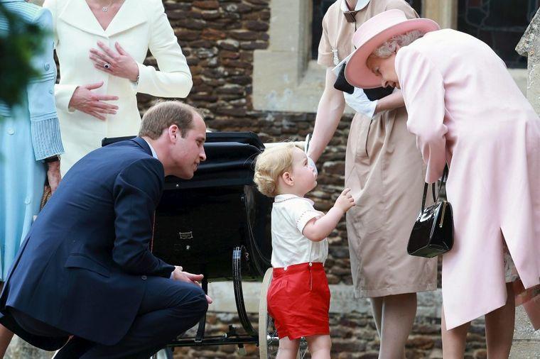 Otkriveno kako Džordž zove kraljicu: Slađi nadimak nikada nije imala!