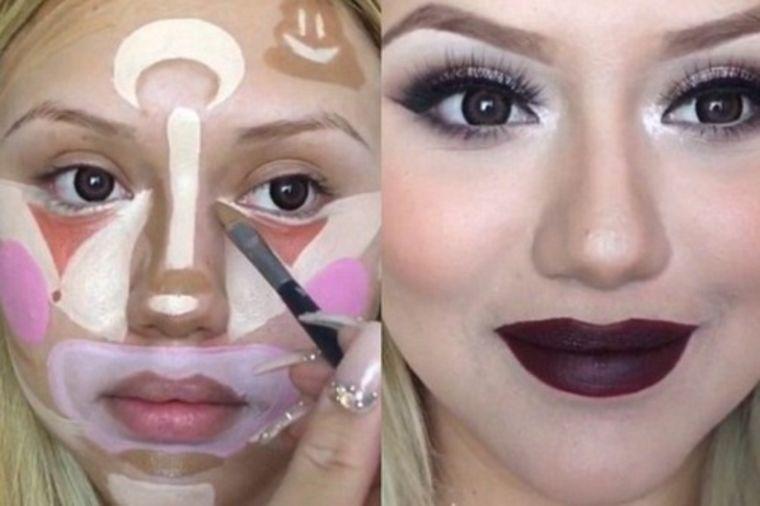 Najnoviji trend u šminkanju: Da li biste isprobale klovn konturisanje? (VIDEO)