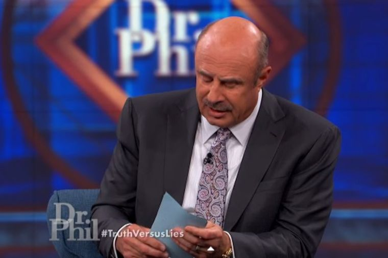 Foto: Printscreen YouTube/ The Dr. Phil Show