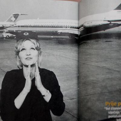 Najpoznatija stjuardesa na svetu: Vesna Vulović, jedina preživela pad aviona sa 10.000m! (FOTO)
