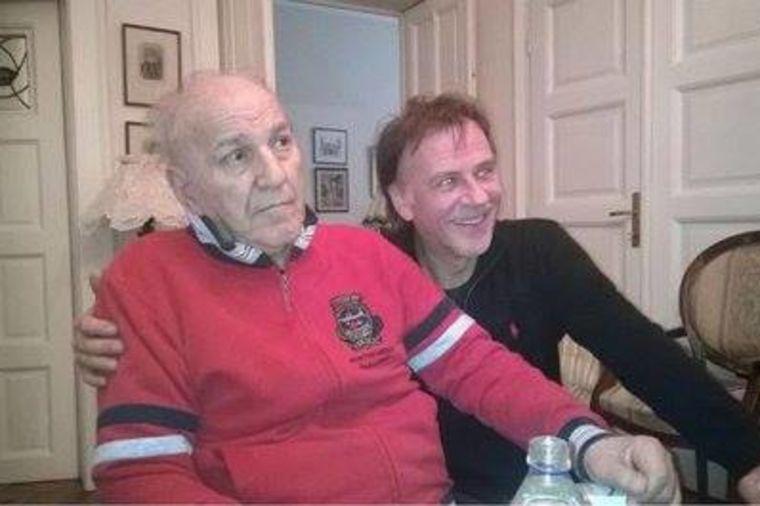 Susret dva velika prijatelja: Bata Živojinović i Žarko Laušević zajedno posle 17 godina! (FOTO)