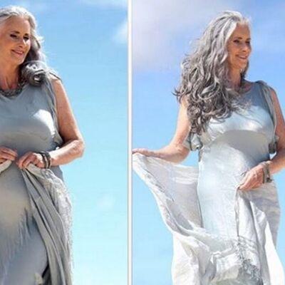 Bravo, ženo: U 56. godini se skinula u bikini, završila na naslovnoj strani! (FOTO)
