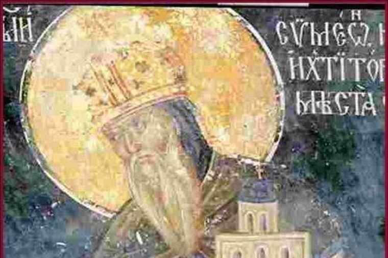 Foto: Wikipedia, freska Stefana Nemanje
