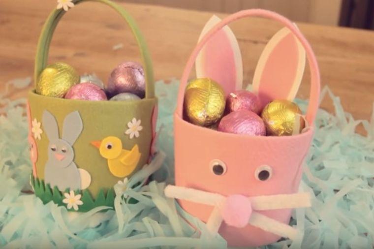 Fantastično, a jeftino: Napravite uskršnju korpicu za jaja! (VIDEO)
