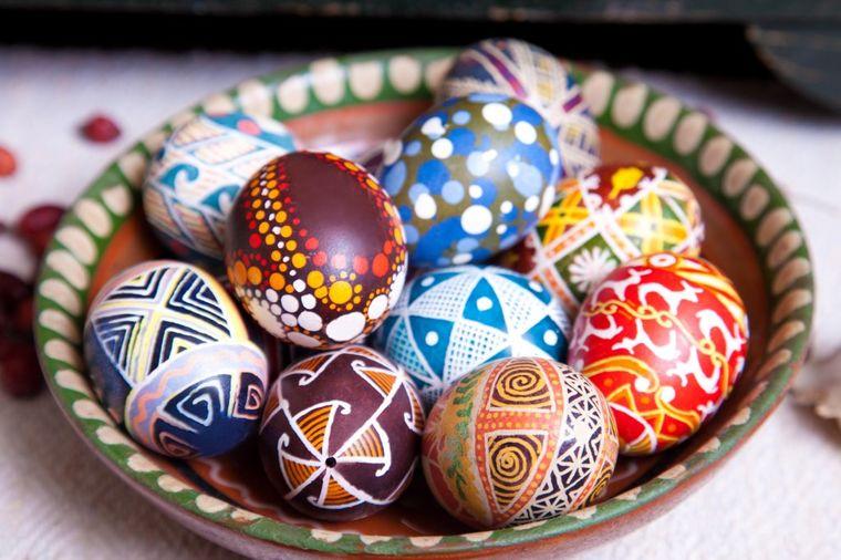 Šaranje jaja voskom