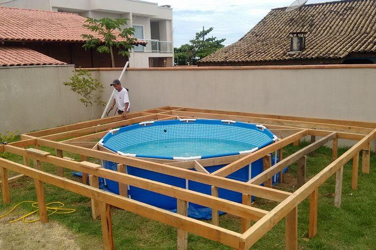Tata ispunio želju deci: Hteli bazen, napravio im genijalnu stvar! (FOTO)