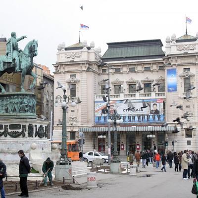 Zaboravljena mračna tajna Beograda: Na mestu Narodnog pozorišta dešavale se jezive stvari! (FOTO)