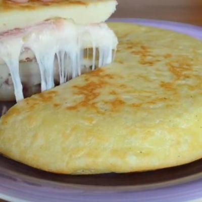Kremasta i sočna pita iz tiganja: Ručak za celu porodicu! (VIDEO)