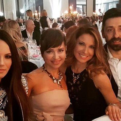 Sanja Marinković u svečanom izdanju: Crna haljina za žurku kod Anastasije! (FOTO)