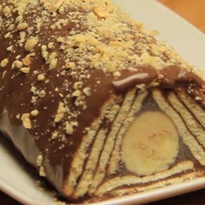 Puding torta bez pudinga: Turska hit poslastica sa keksom i bananama! (RECEPT, FOTO)
