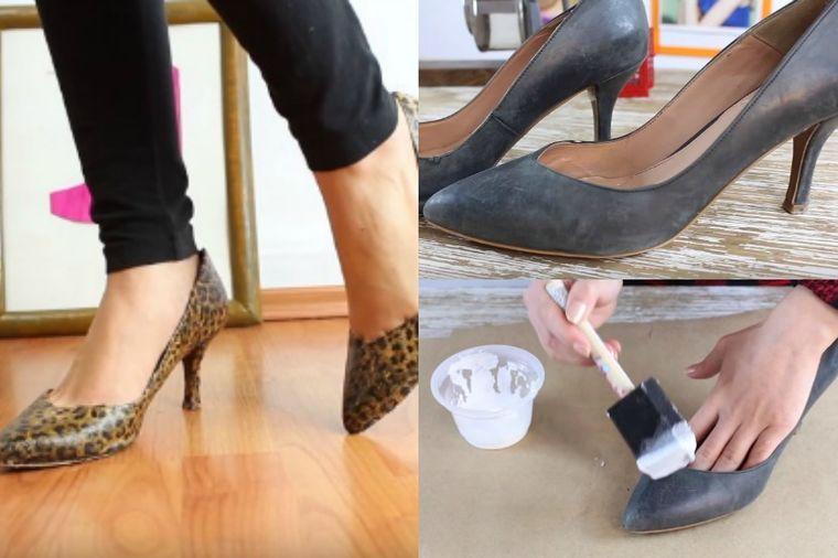 Kako da stare cipele pretvorite u nove: Brzo, jednostavno i lepo! (VIDEO)