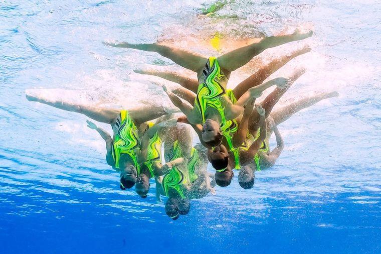 Žene koje prkose gravitaciji: Ovako izgleda sinhrono plivanje pod vodom!