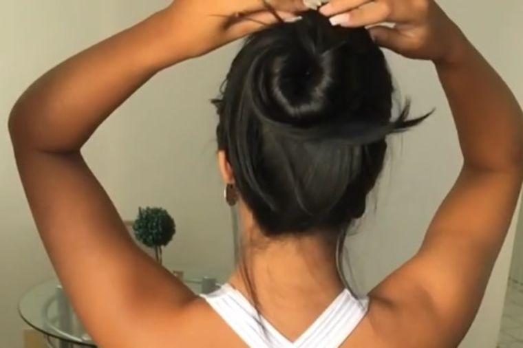 Samo je skinula šnalu sa kose: Svet ostao hipnotisan! (VIDEO)