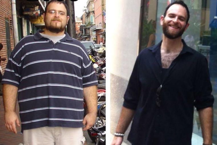 Smršao sam 70 kilograma: I vi ćete, ako budete uradili ovih 10 stvari! (FOTO)