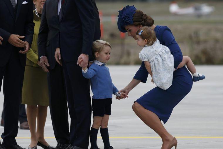 Mali Džordž nasmejao sve: Postupak princa o kojem bruji ceo svet! (VIDEO)