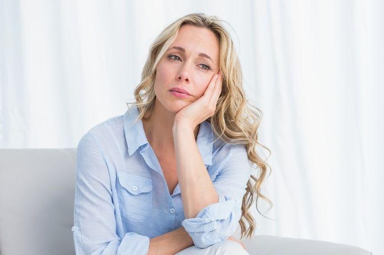Zabrinuta žena, Profimedia