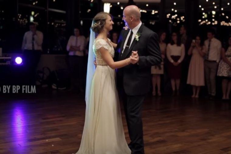 Počelo je kao običan ples mlade i oca: Svatovima priredili šou za pamćenje! (VIDEO)