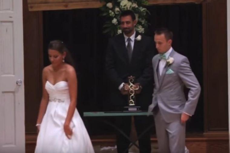Mlada ostavila mladoženju pred oltarom: Kada je saznao zašto, rasplakao se! (VIDEO)