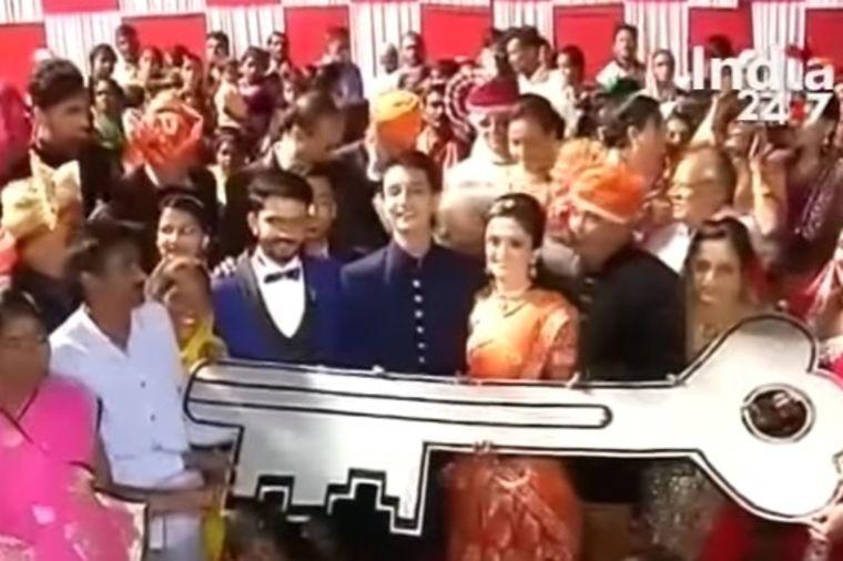 Kad indijski tajkun udaje ćerku: Poklonio joj najlepši dar koji je mogla da dobije! (VIDEO)