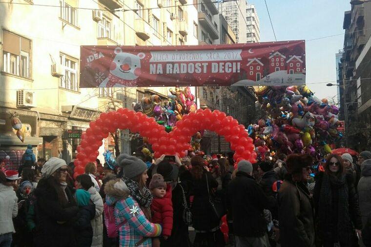 Slavlje se nastavilo 1. januara: Veselje u Ulici otvorenog srca!