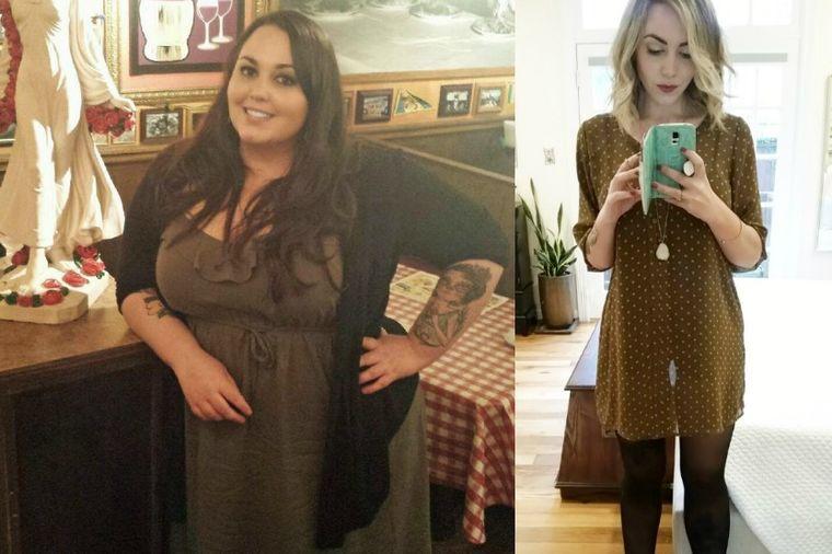 Smršala 75 kg: Evo kako je sa 140 kg počela da dovodi život u red! (FOTO)