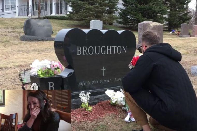 Otac joj umro pre nekoliko godina: Zaplakala je kada je videla ovog muškarca na grobu! (VIDEO)