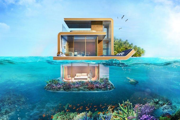 Prodaju se plutajuće vile u srcu Dubaija: Samo za one sa dubokim džepom!