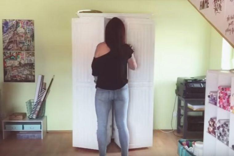 Izgleda kao običan ormar: Kada ga otvori, prizor oduzima dah! (VIDEO)