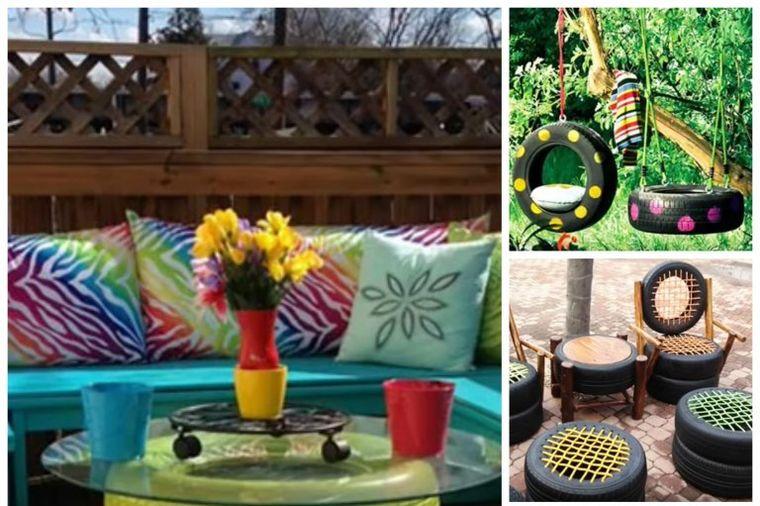 Pretvorite stare gume u koristan nameštaj za kuću i baštu: 4 genijalne ideje! (VIDEO)